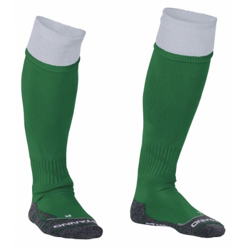 Reece Combi Socks Green/White Unisex Senior
